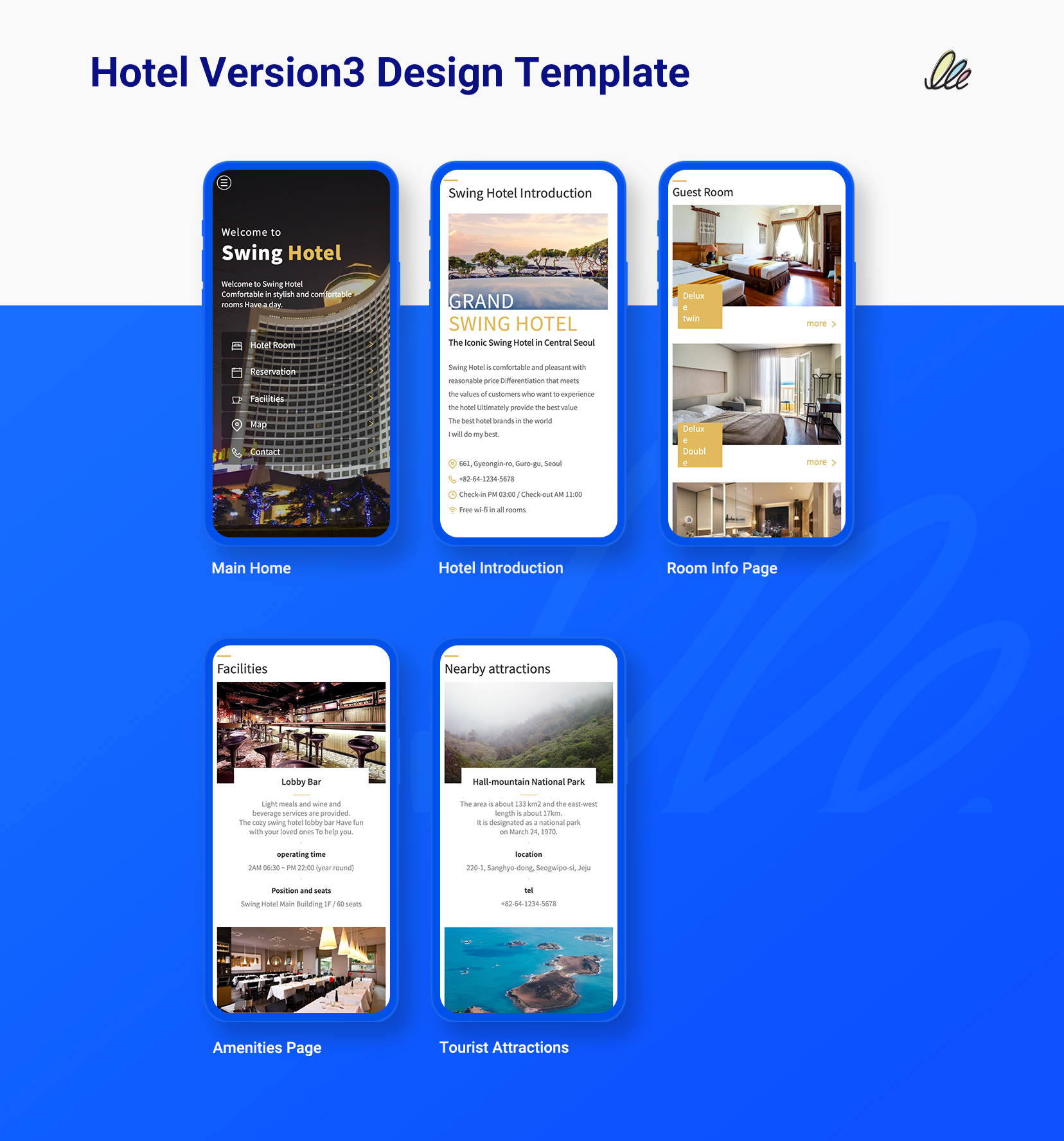 hotel mobile app design